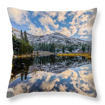 Lily Lake Throw Pillow
