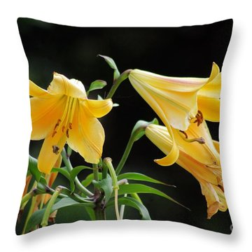 Lily Lily Where Art Thou Lily Throw Pillow