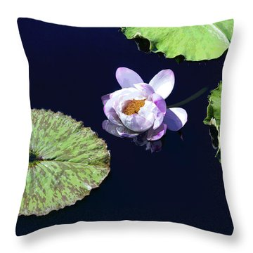 Lily Love II Throw Pillow by Suzanne Gaff