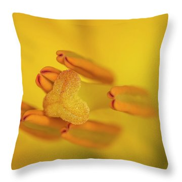 Lily Love Throw Pillow by Roy McPeak
