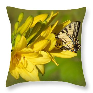 Lily Lover Throw Pillow by MTBobbins Photography