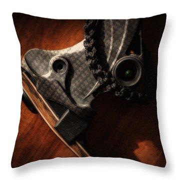 Limb Pocket Throw Pillow by Tim Nichols