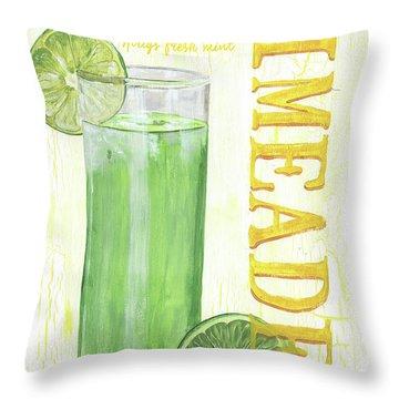 Limeade Throw Pillow