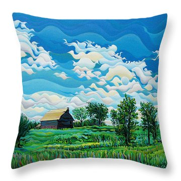 Limitless Afternoon Dreams Throw Pillow