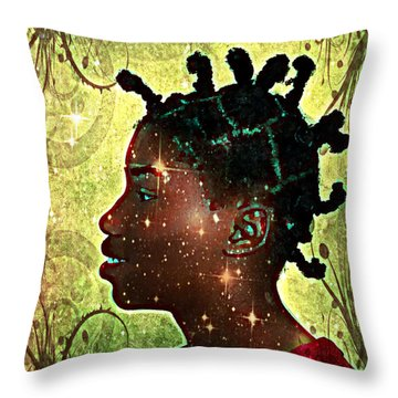Throw Pillow featuring the photograph Limitless by Iowan Stone-Flowers