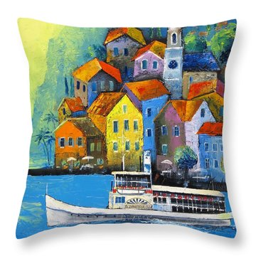 Limone Throw Pillow