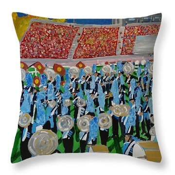 Lincoln Band Throw Pillow