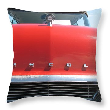 Lincoln Throw Pillow by Kelly Mezzapelle