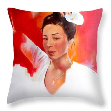Linda Lightbody Throw Pillow