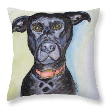 Linda's Doggie Throw Pillow
