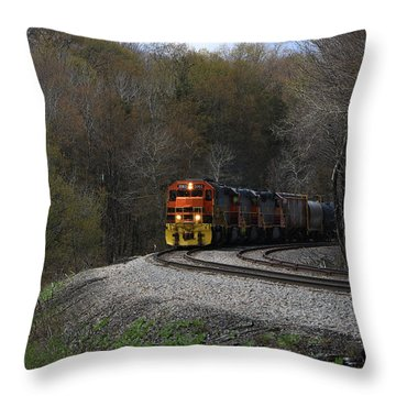 Lindholm Train Throw Pillow