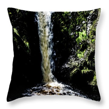 Linhope Spout Waterfall Throw Pillow