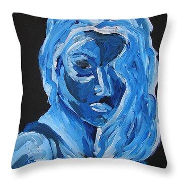 Lindsay Throw Pillow by Joshua Redman