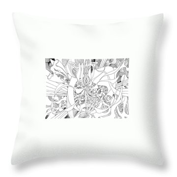Mindfulness  Throw Pillow