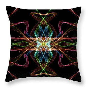 Line Art Throw Pillow