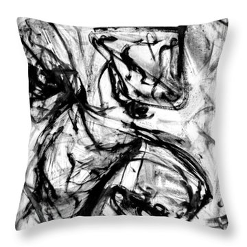 Line Of Life Throw Pillow