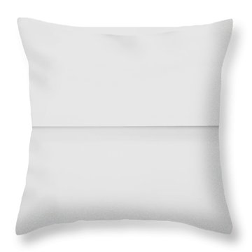Line On The Horizon Throw Pillow by Scott Norris