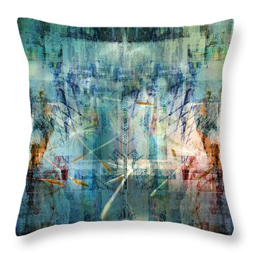 Line Up Strategy Throw Pillow
