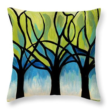 Lineage  Throw Pillow by Elizabeth Robinette Tyndall