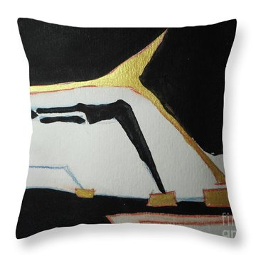 Linear-1 Throw Pillow