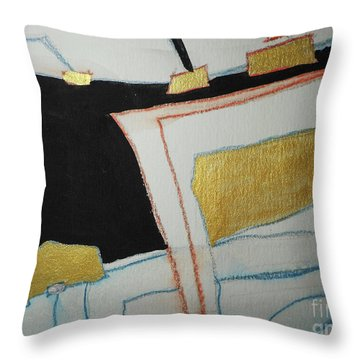 Linear-2 Throw Pillow