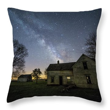 Throw Pillow featuring the photograph Linear by Aaron J Groen