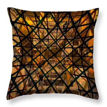 Linear Contingency Throw Pillow