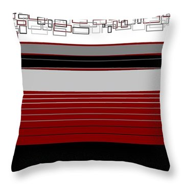 Lines 3 Throw Pillow