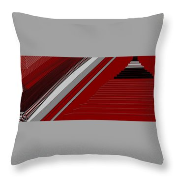 Lines 50 Throw Pillow