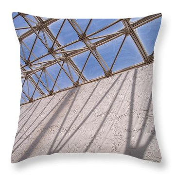 Lines And Shadows IIi Throw Pillow by Anna Villarreal Garbis