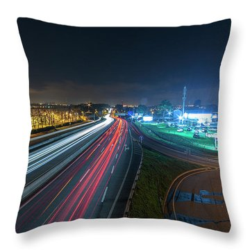Throw Pillow featuring the photograph Lines  by Bruno Rosa