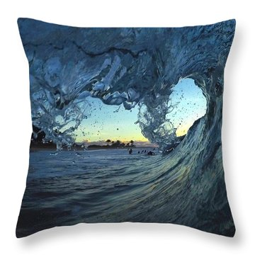 Lines Of Love Throw Pillow