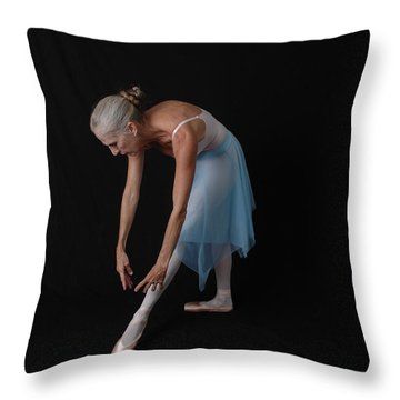 Lines Of The Dance Throw Pillow