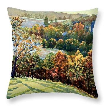 Linganore Dew Throw Pillow