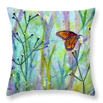 Lingering Memory 1 Throw Pillow