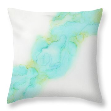 Lingering Onward Throw Pillow