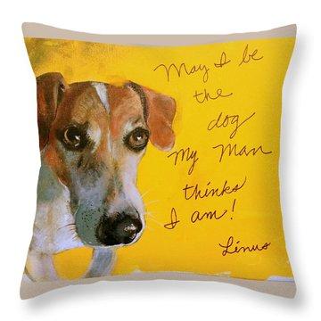 Linus Throw Pillow