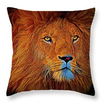 Lion 16218 Throw Pillow