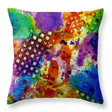 Lion For A Day Throw Pillow