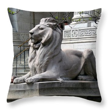 Lion Guards Literature Throw Pillow