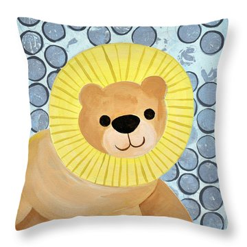 The Blessing Of The Lion Throw Pillow