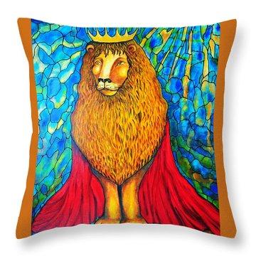 Lion-king Throw Pillow