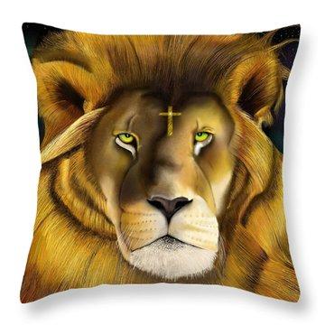 Lion Of Judah Throw Pillow
