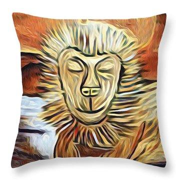 Lion Of Judah II Throw Pillow