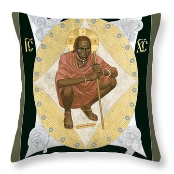 Lion Of Judah - Rlloj Throw Pillow