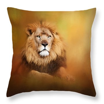 Lion - Pride Of Africa I - Tribute To Cecil Throw Pillow