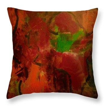 Lion Proile Throw Pillow