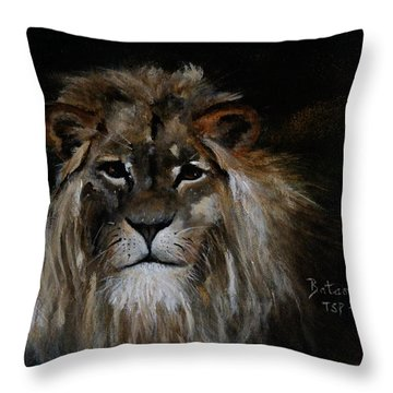 Sargas The Lion Throw Pillow