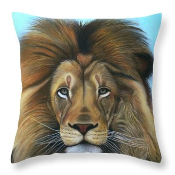 Lion - The Majesty Throw Pillow