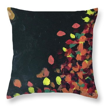 Throw Pillow featuring the painting Lioness' Pride 6 Of 6 by Donald J Ryker III